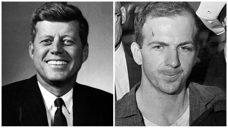 Джон Кеннеди — Ли Харви Освальд (предположительно). звёзды, знаменитости, история, убийцы