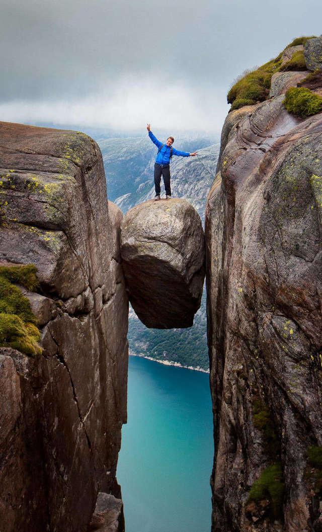 И снова Норвегия спорт, ужас, экстрим