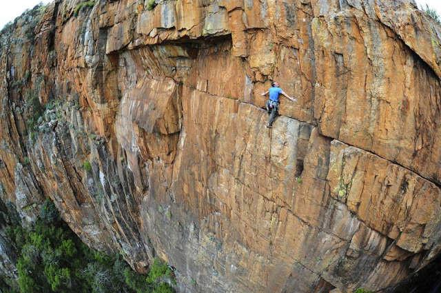 Джон Робертс покоряет вершины в ЮАР спорт, ужас, экстрим