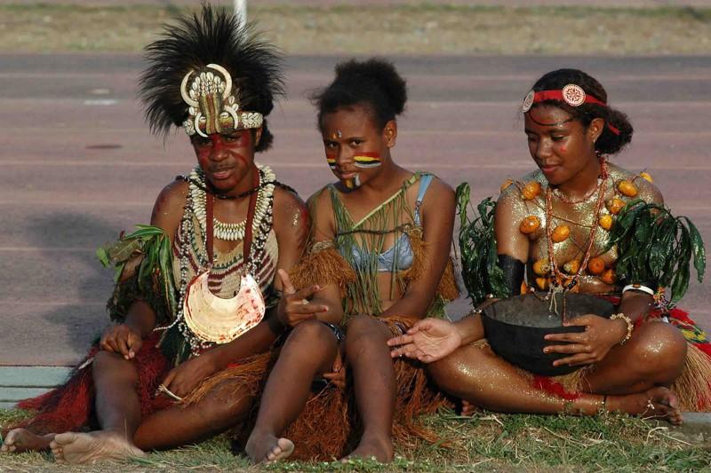 6. Папуа - Новая Гвинея измена, россия