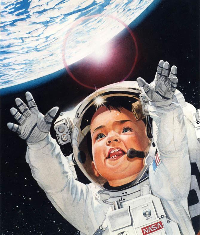фото с днем космоса какие-то этапы изготовления