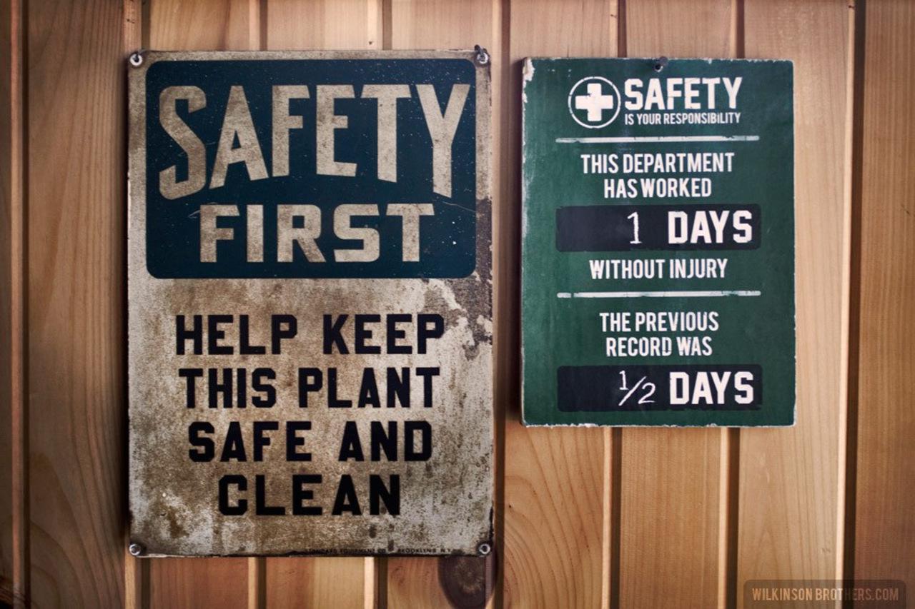 Images Of Vintage Safety Signs Rock Cafe