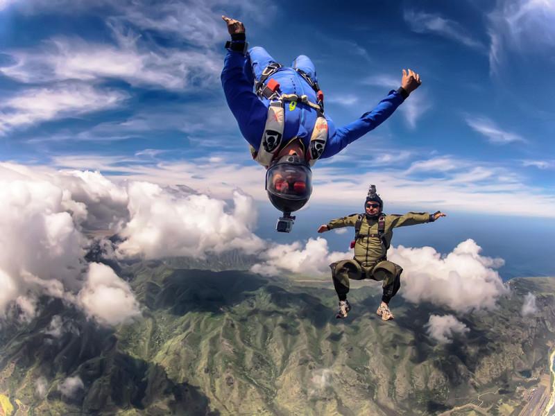 приснилось картинки люди прыгают с парашютом коростынь
