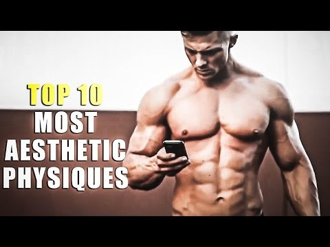 Top 10 Most Aesthetic Physiques In The World | Highlights