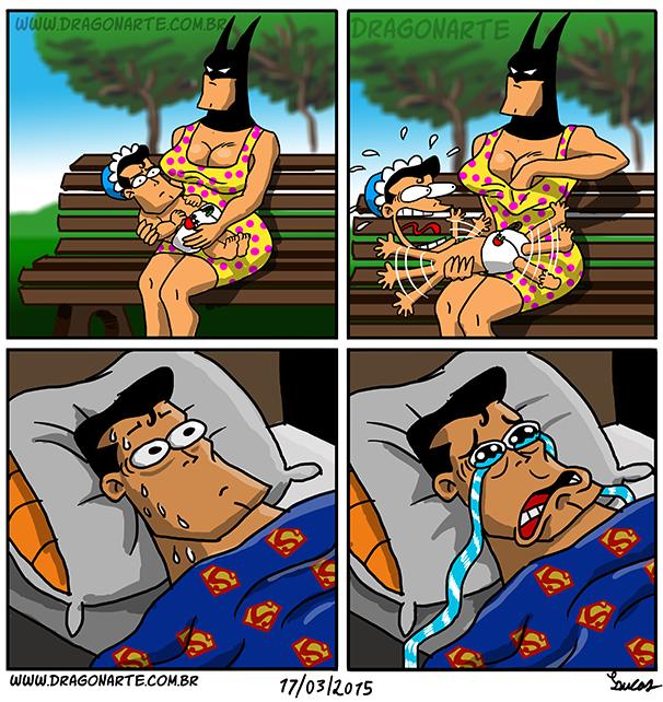 Смешные картинки бэтмен и супермена, открытки днем футбола