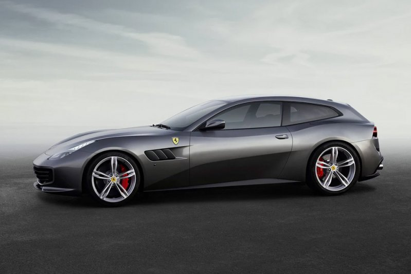 Ferrari GTC4 Lusso shooting brake, автодизайн, шутинг-брейк