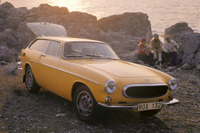 Volvo P1800 ES shooting brake, автодизайн, шутинг-брейк