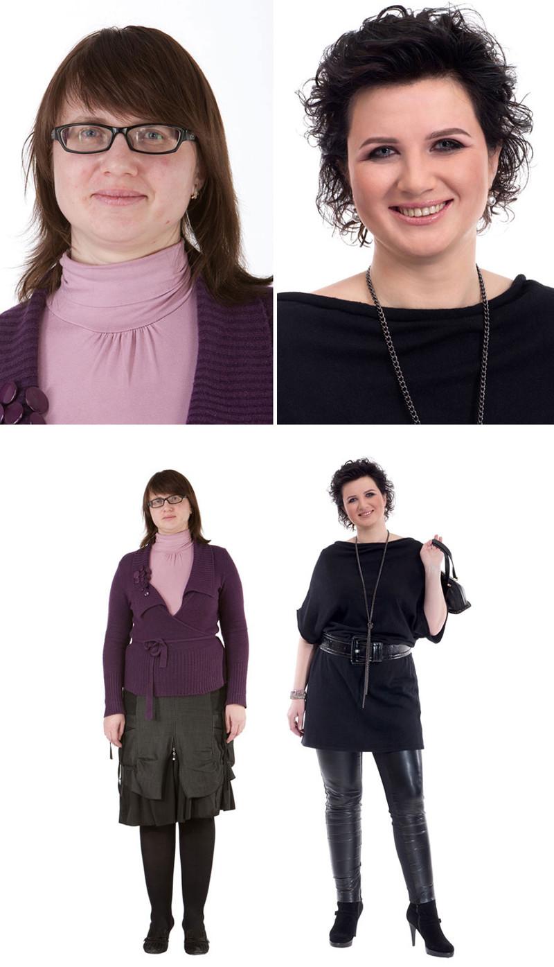 8. Оксана, Минск женщина, перевоплощение, стилист