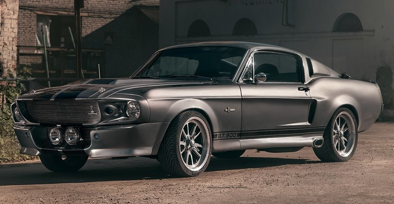 1967 FORD MUSTANG SHELBY GT 500 ELEANOR — УГНАТЬ ЗА 60 СЕКУНД