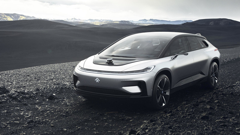 Faraday Future показала электрокар FF 91