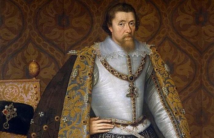 Г - гигиена, Яков I история, монархи, странности