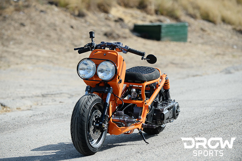 Honda Zoomer Pure Orange
