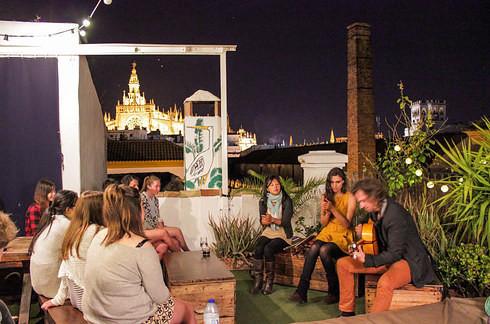 La Banda Rooftop - Севилья, Испания дешево и сердито, европа, путешествия, хостелы