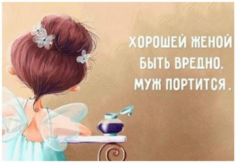 Но, милые дамы - не переусердствуйте с идеалами жена, идеал, интересно, качества