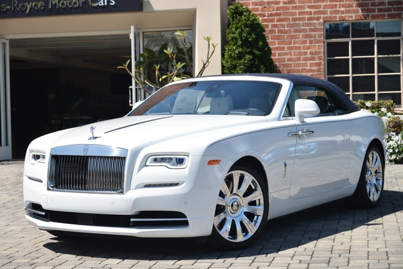 Rolls Royce Dawn без тюнинга: Dawn, rolls-royce, wald international, тюнинг