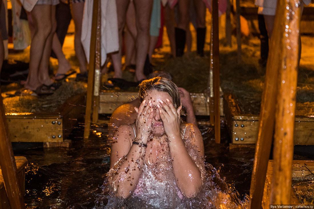 крещенское купание картинки занесло кривую