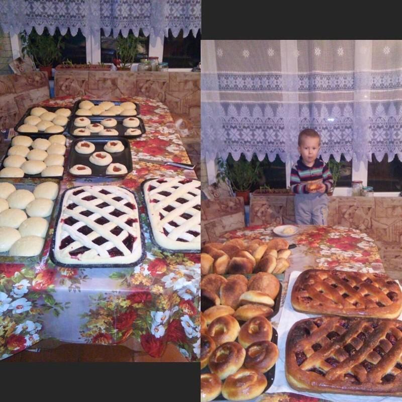Так печь пироги могут только в деревне! Душевно, деревня, красота, счастье, уют