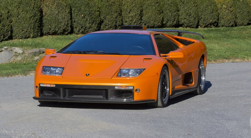 "Породистый бык - Lamborghini Diablo GT ""The King in yellow"" diablo, lamborghini, спорткар, суперкар"