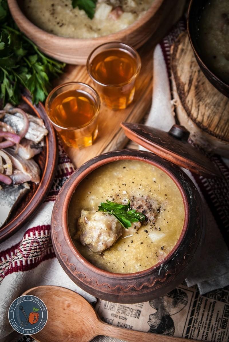 суп полевой с пшеном сборник рецептур