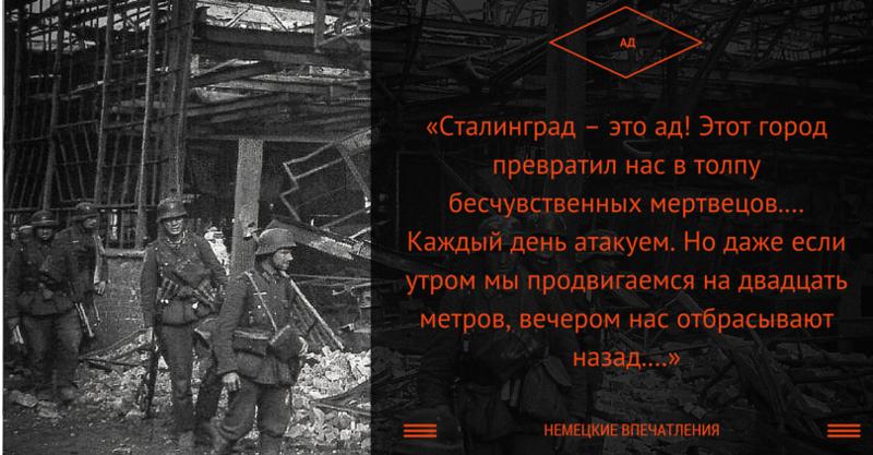 Письма фашистов из сталинград