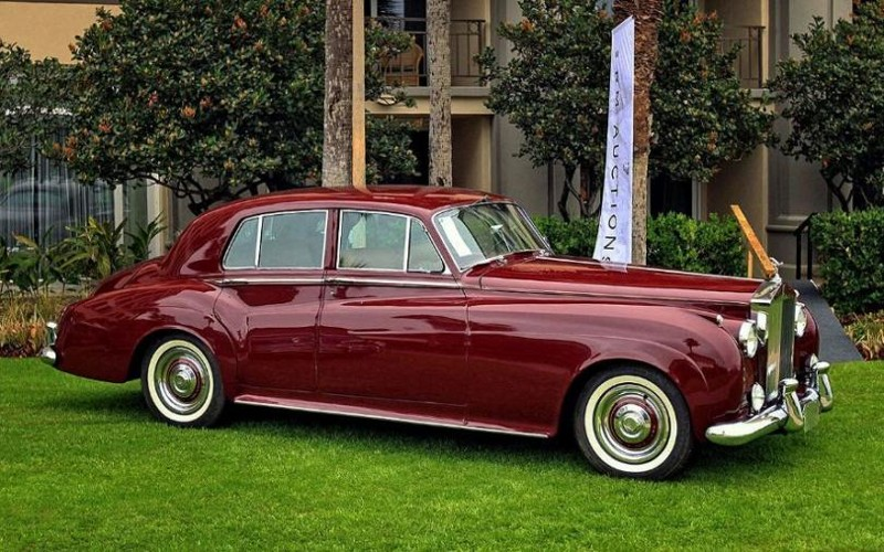 10. Rolls-Royce Silver Cloud 1956 авто, политика, факты