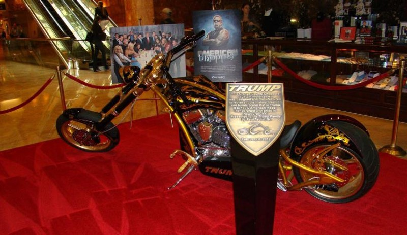 1. Мотоцикл от OCС (Orange County Choppers) авто, политика, факты