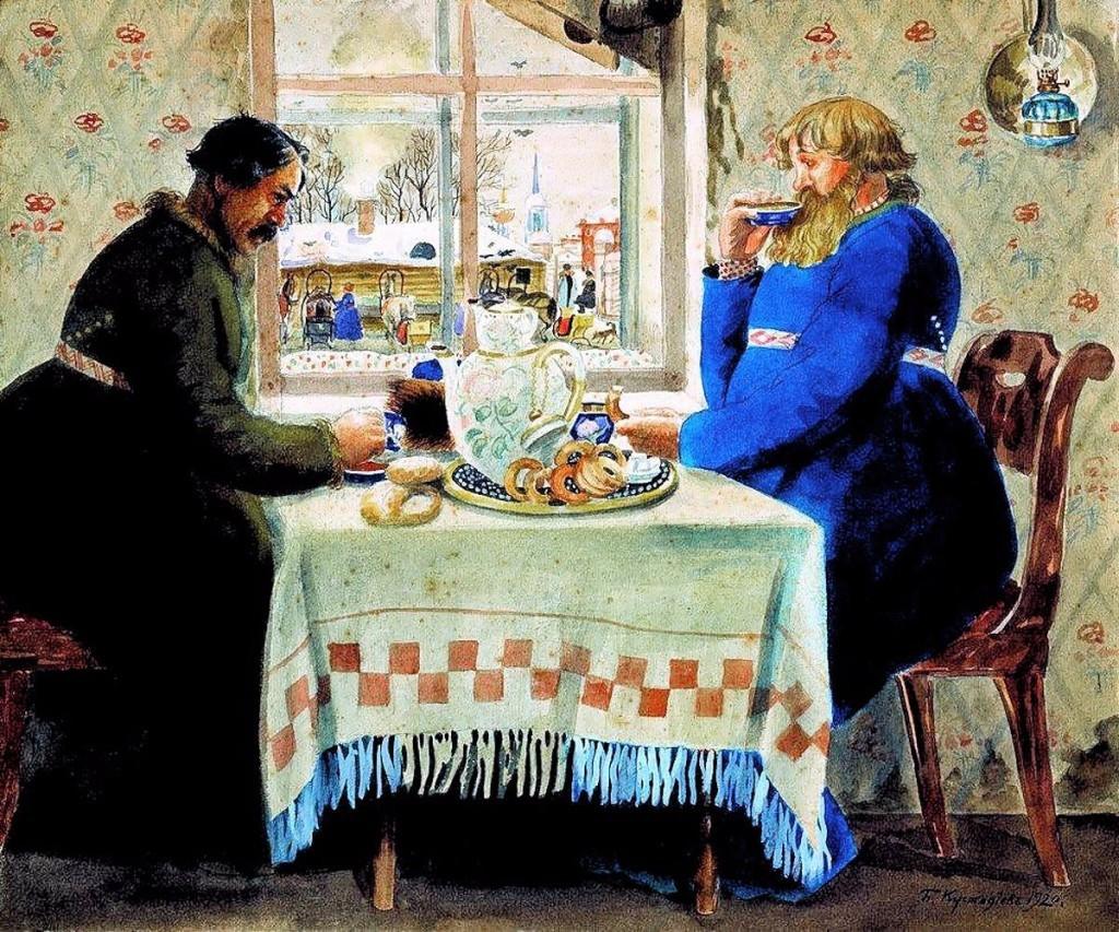 история появления чая на руси