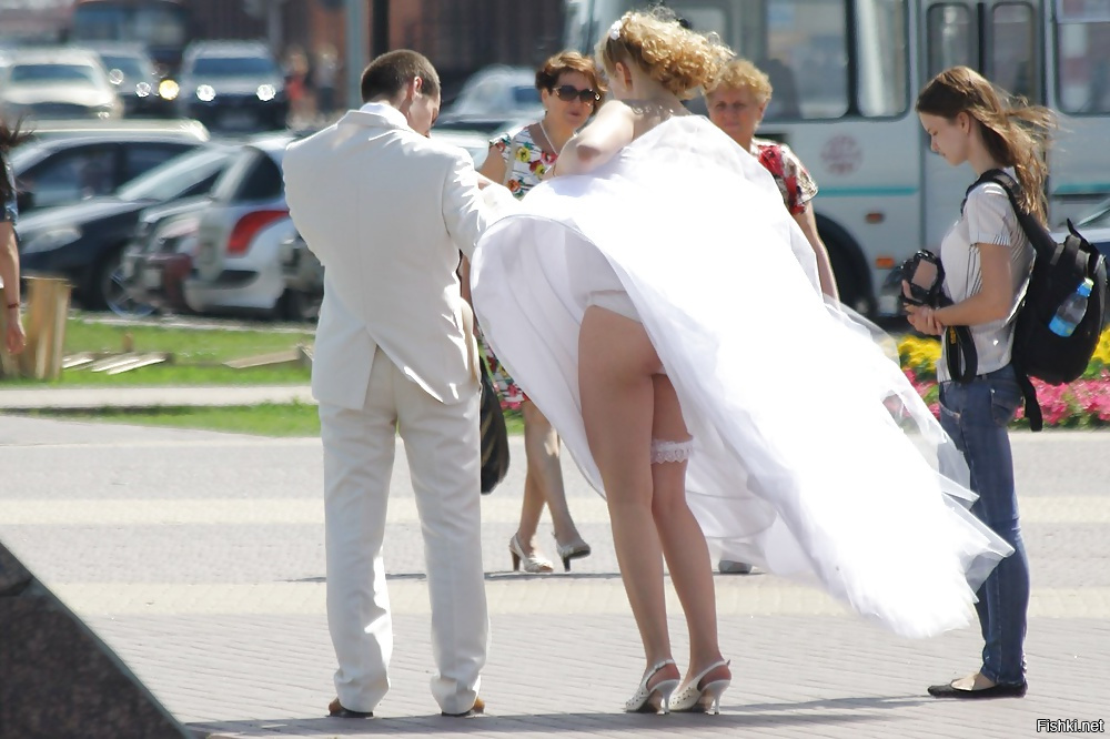 Free upskirt dirty wedding photos
