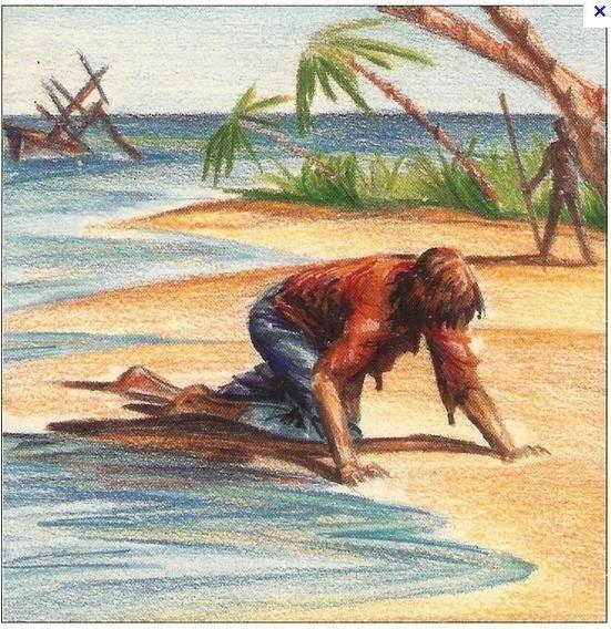 Кем бл робинзон круззо до попадания на остров