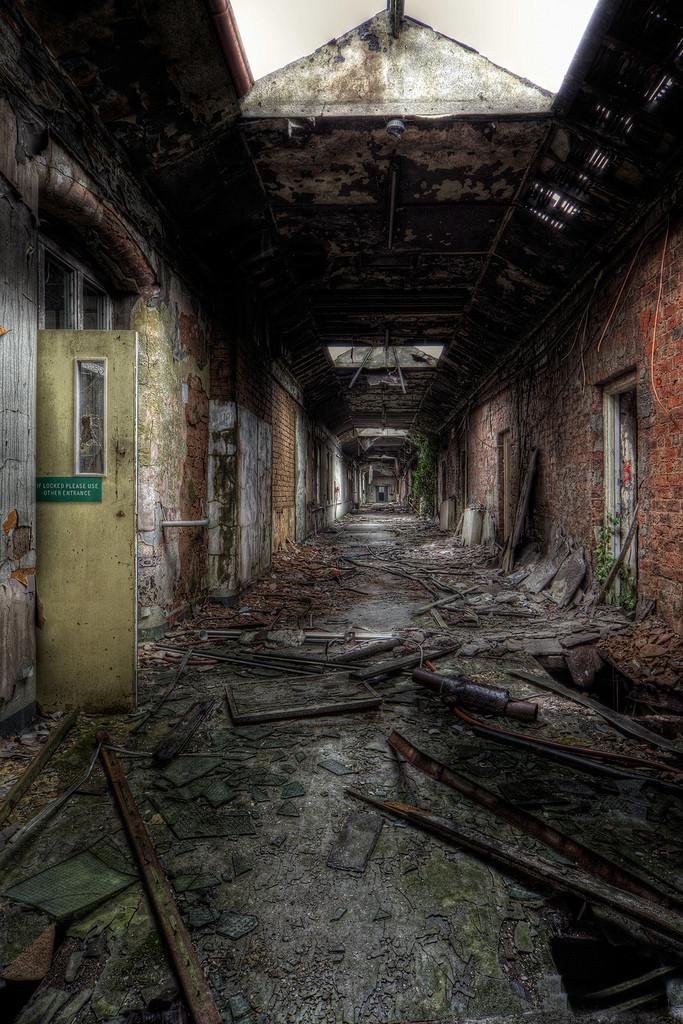 Картинка заброшенная больница