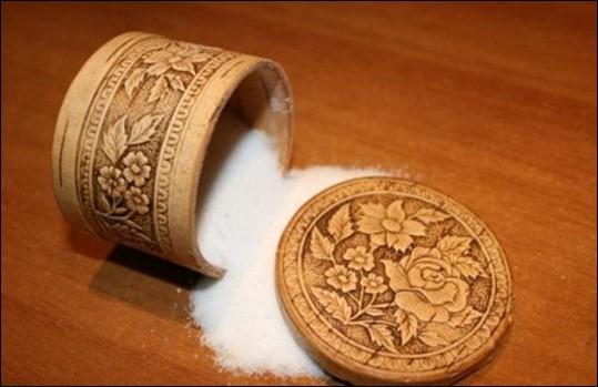 рассыпанная-соль