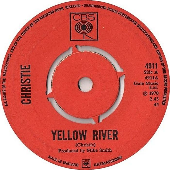 Пешком по прошлому: Christie - Yellow River (1970)