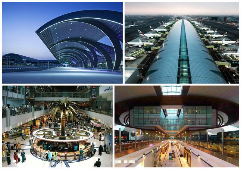Международный аэропорт Дубая (Dubai International Airport), Дубай, ОАЭ архитектура, аэропорты, красота, особенности