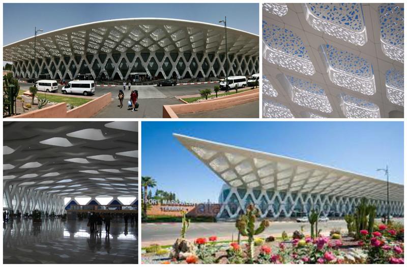 Марракеш Менара Аэропорт (Marrakech Menara Airport), Марракеш, Марокко архитектура, аэропорты, красота, особенности