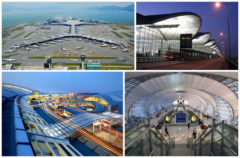 Аэропорт Чхеклапкок, Гонконг. архитектура, аэропорты, красота, особенности