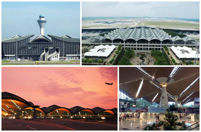 Международный аэропорт Куала-Лумпур (Kuala Lumpur International Airport), Куала-Лумпур, Малайзия архитектура, аэропорты, красота, особенности