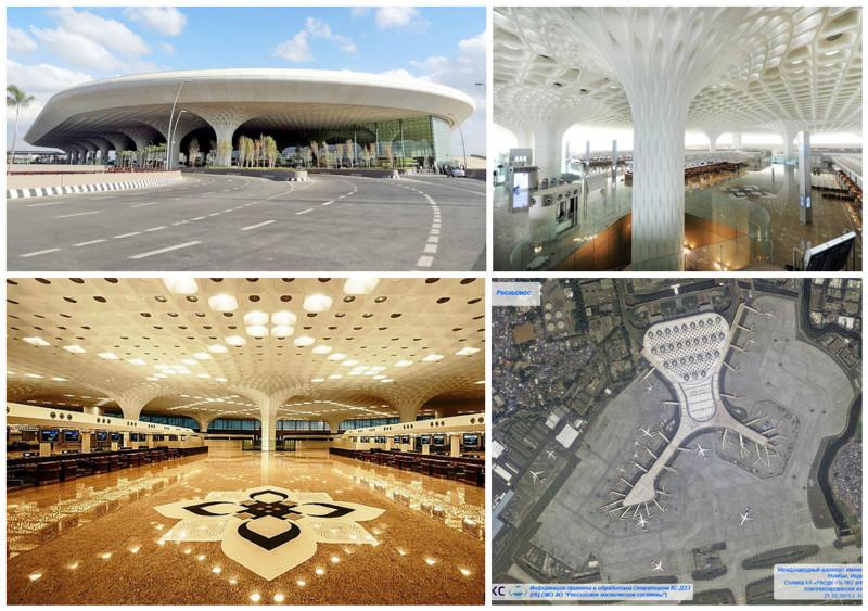Аэропорт имени Чатрапати Шиваджи, Мумбаи архитектура, аэропорты, красота, особенности