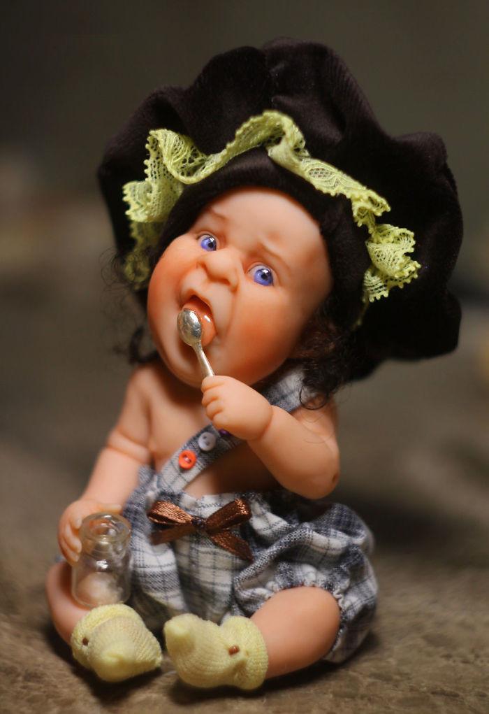 Куклы картинки приколы, бумаги своими