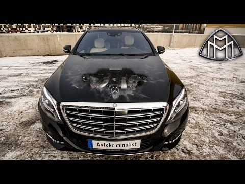 Mercedes-Maybach за 7000000, улучшенный Mercedes-Benz W222