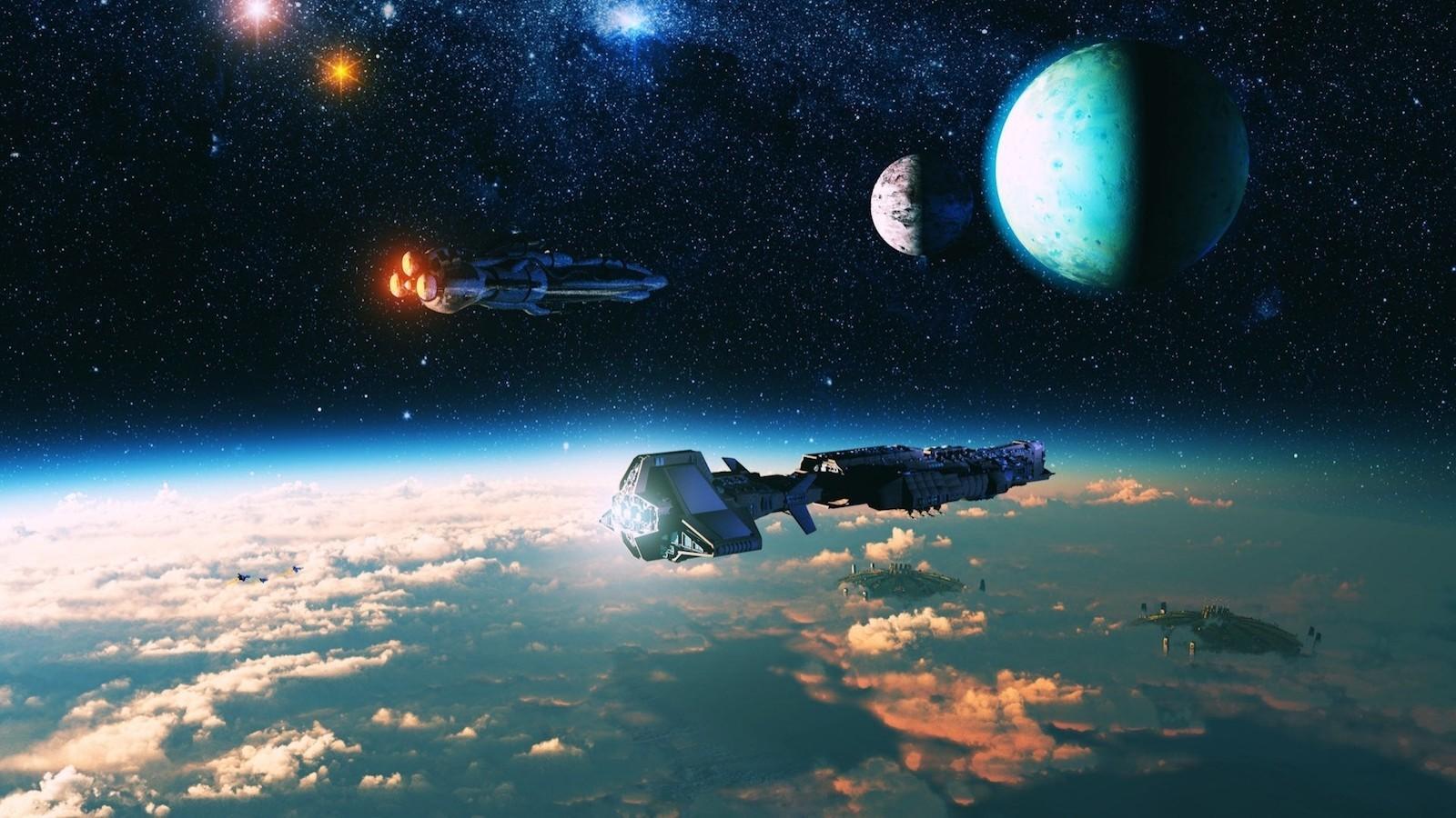 доработаем картинки космоса с космическими кораблями приготовления тилапии