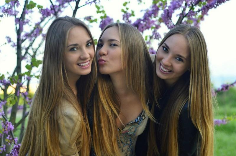 девушки подружки москва