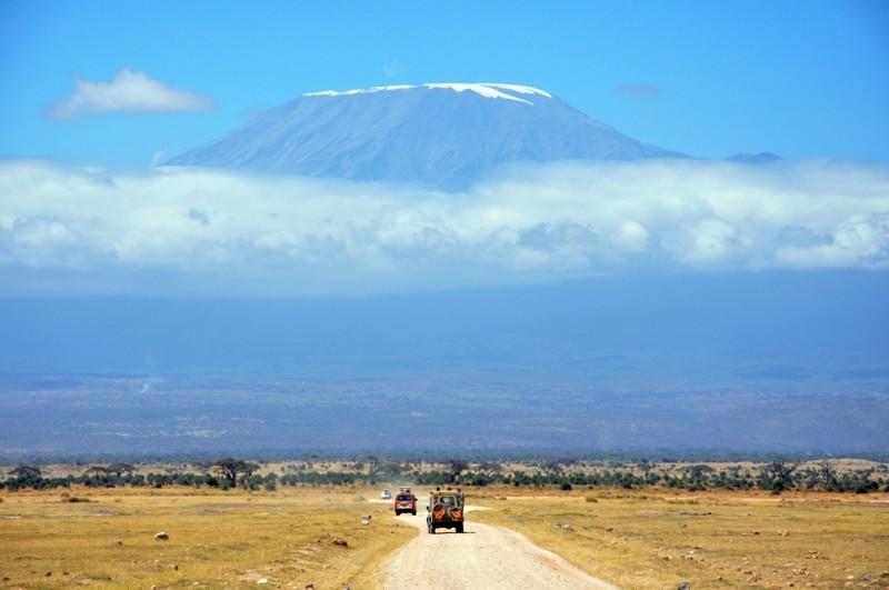 Гора Килиманджаро, Танзания, Африка дух, захватывает, красота