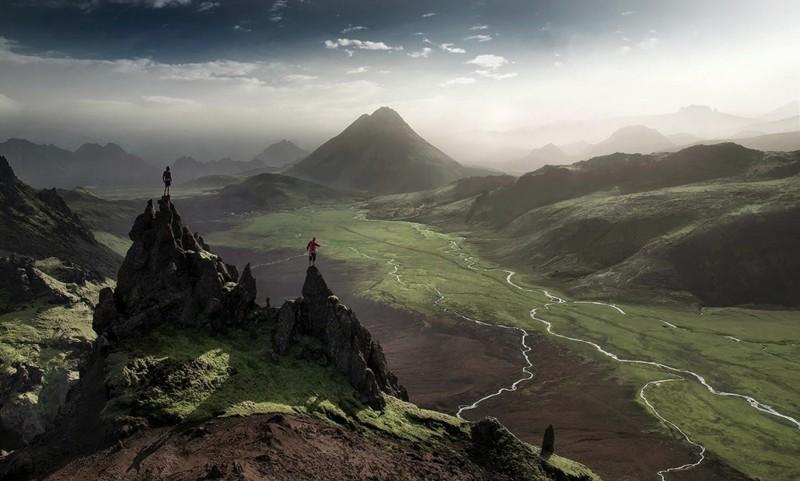 Фьятлабакслейд, Исландия дух, захватывает, красота