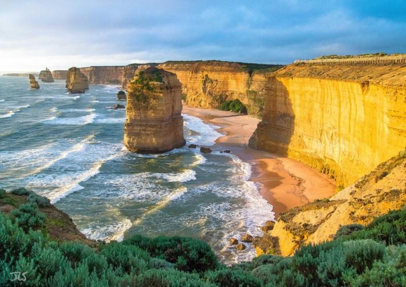 Двенадцать Апостолов, Австралия дух, захватывает, красота