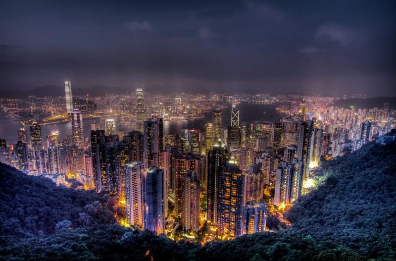 Пик Виктория, Гонконг дух, захватывает, красота