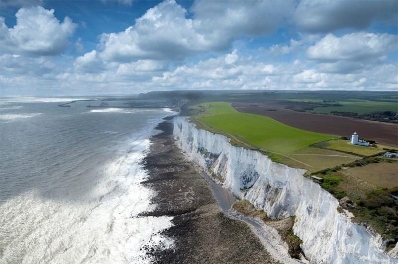 Белые клифы Дувра, Англия дух, захватывает, красота
