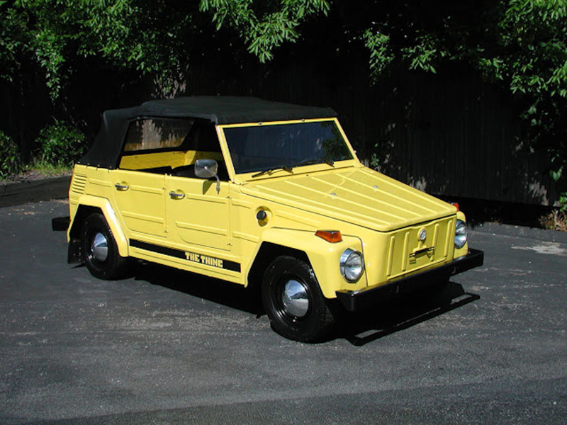1. VOLKSWAGEN THING