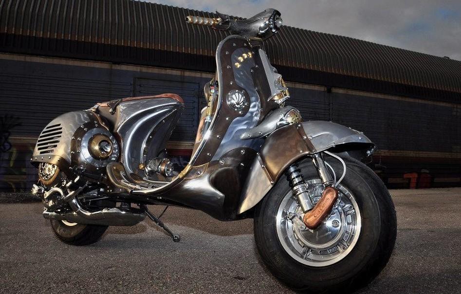 Мотоциклы в стиле стимпанк картинки