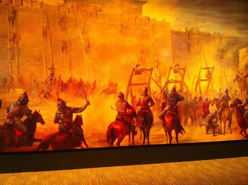 10. Великий хан одерживал победы над сильнейшими армиями  Чингисхан, история, факт