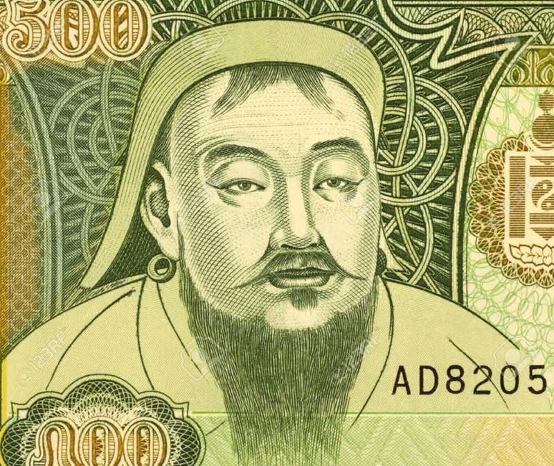 6. Национальный герой Монголии  Чингисхан, история, факт